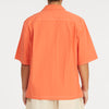 Aloha Shirt - Orange Cotton