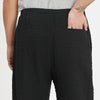 Rem Pant - Black Puckered