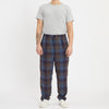 Rem Pant - Blue & Purple Plaid