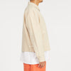 Range Jacket - Beige Linen/Cotton