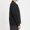 Jam Shirt - Black Puckered