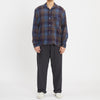 Jam Shirt - Blue & Purple Plaid