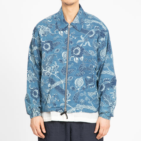 Floral Indigo Hackney Jacket