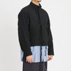 Chopped Fish Jacket - Black Puckered