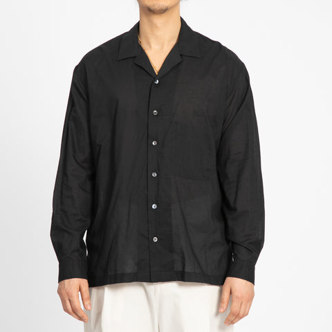 Translucent Black Shore Shirt