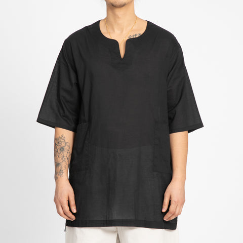 Translucent Black Oba Shirt
