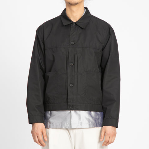 Black Water Resistant Type 100 Jacket