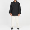 Big Folk Robe - Black Quilted Recycled Nylon WR