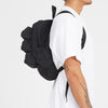 Day Pack - Black Quilted Recycled Nylon WR