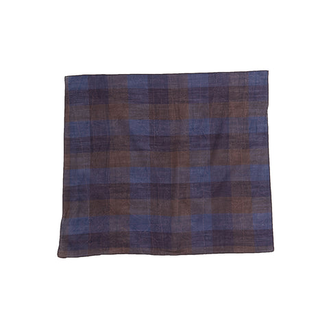 Bandana - Blue & Purple Plaid