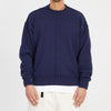 Wharf Sweater - Navy Cotton