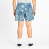 MT Short - Floral Indigo