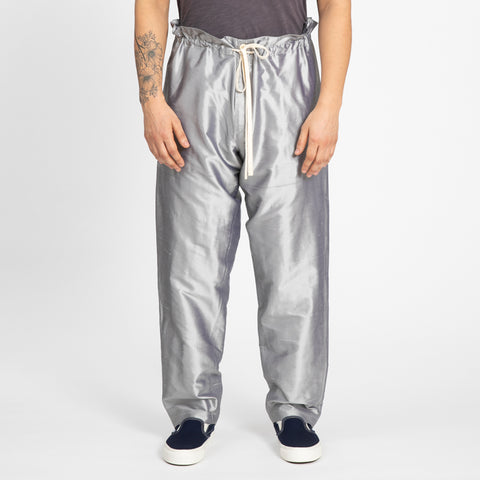 Silver Pull Pant