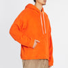 Reversible Pile Hoodie -  Orange