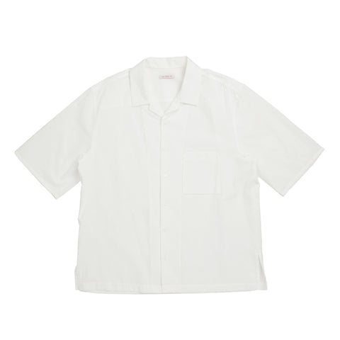 Aloha Shirt - White Cotton