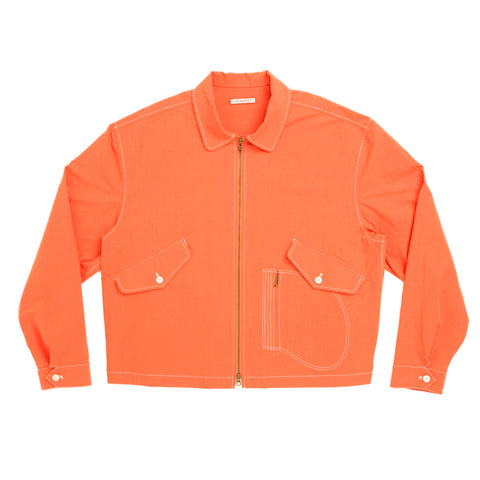 Range Jacket - Orange Cotton