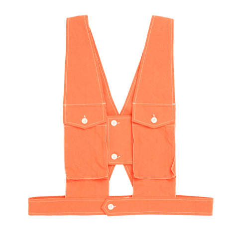 Harness - Orange Cotton