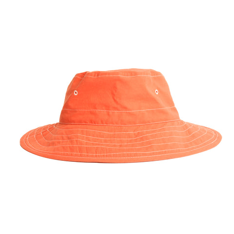 Bucket Hat - Orange Cotton