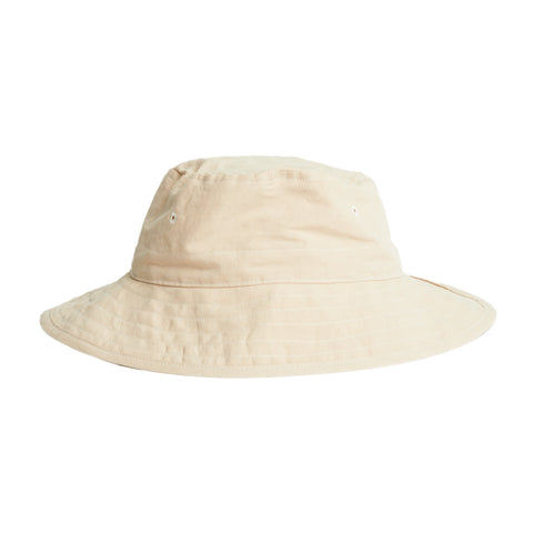 Bucket Hat - Beige Linen/Cotton