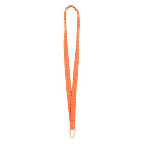 Lanyard Keychain - Orange Cotton