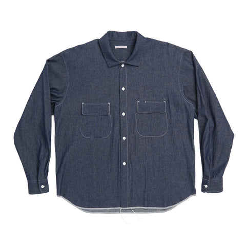 Moil Shirt - Indigo Denim