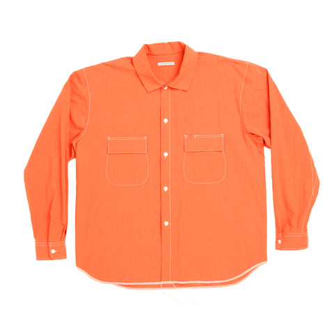 Moil Shirt - Orange Cotton