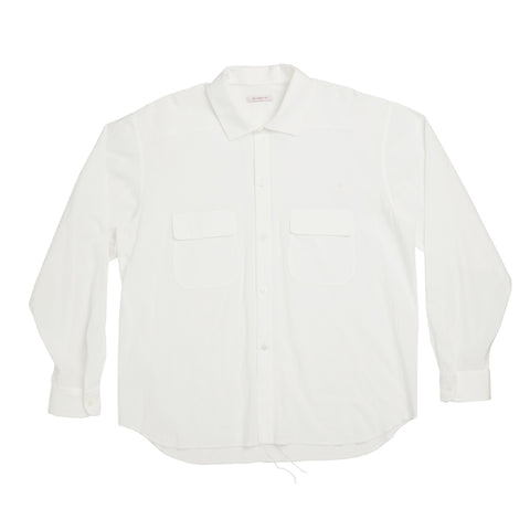 Moil Shirt - White Cotton