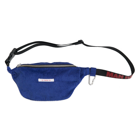 Fanny Pack - Royal Blue Corduroy ( X Man Repeller)