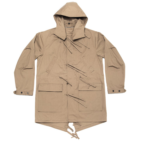 Fishtail Parka - Clay (water resistant)