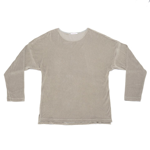 Long Sleeve Dolman T-Shirt - Taupe