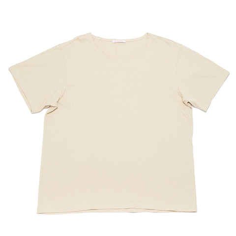 Open-Neck T-Shirt - Sand