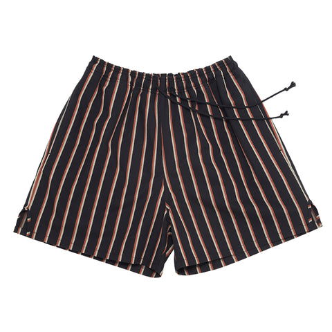 MT Short - Navy/Orange Stripe
