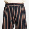 Sahara Short - Navy/Orange Stripe