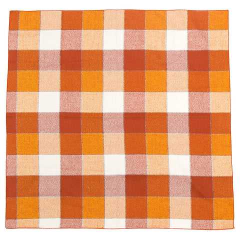 Bandana - Orange Plaid
