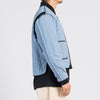 Line Bomber Jacket - Slate Blue (Recycled Nylon)