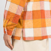 Orville Shirt - Orange Plaid