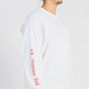Long Sleeve Logo T-Shirt - White