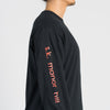 Long Sleeve Logo T-Shirt - Black