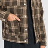 Type 100 Jacket - Brown Plaid