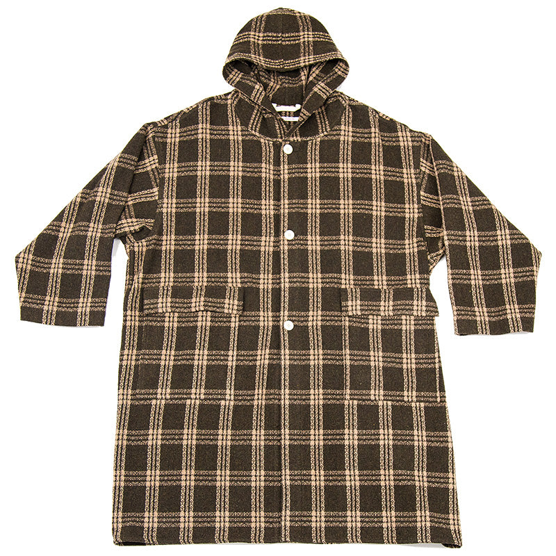 Canopy Coat - Brown Plaid