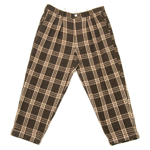 Charlie Pant - Brown Plaid