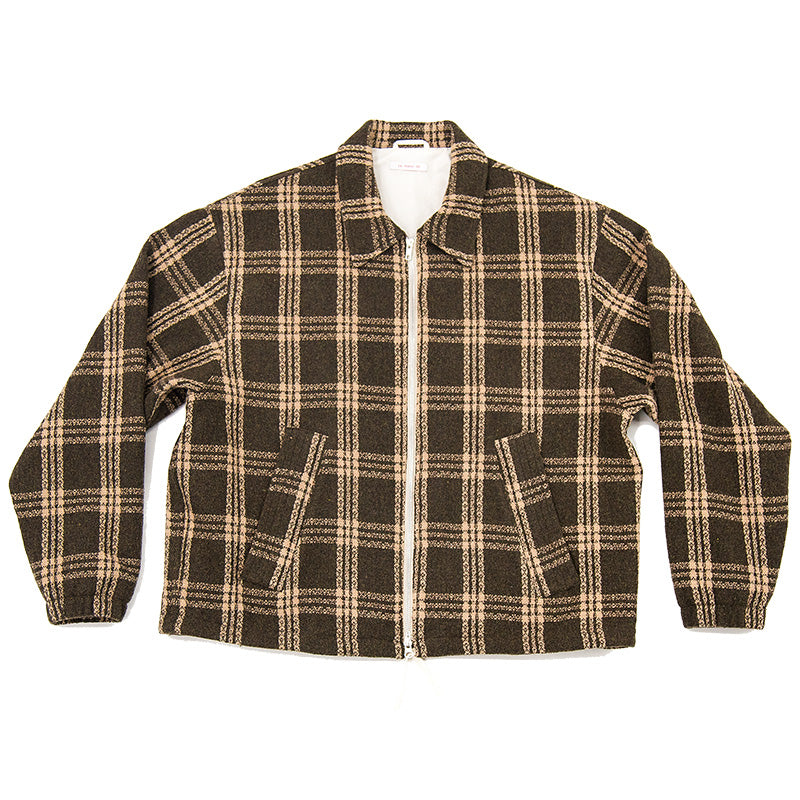 Hackney Jacket - Brown Plaid