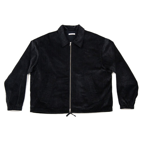 Hackney Jacket - Black Corduroy