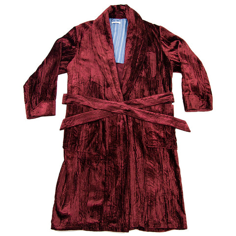 Wallace Robe - Crushed Velvet