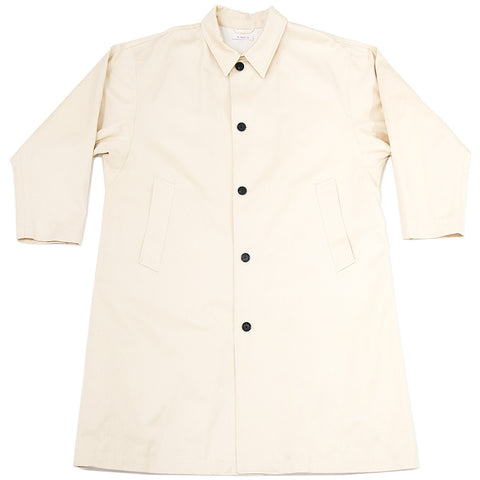 Shelby Trench Coat - Vanilla Twill (Water/Stain Resistant)