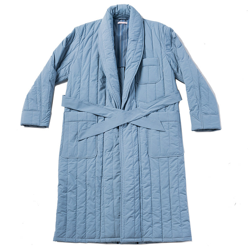 Wallace Robe - Slate Blue (Recycled Nylon)