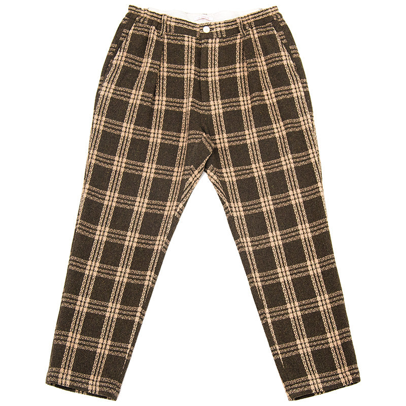 Watson Pant - Brown Plaid