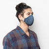 Face Mask - Blue Translucent Stripe