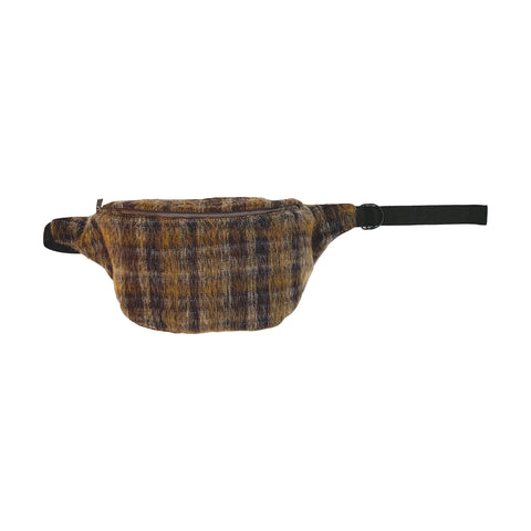 XL Fanny Pack - Mohair Plaid