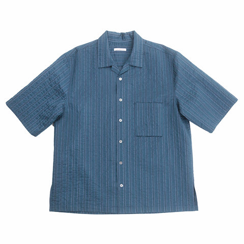 Aloha Shirt - Blue Translucent Stripe